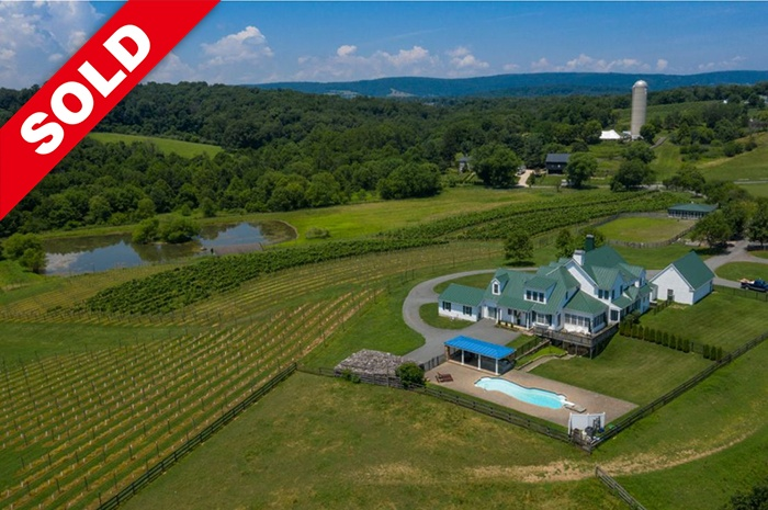 Spectacular Winery with Horse Facility
